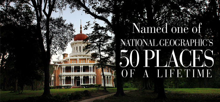Travel to Natchez, Mississippi, to see one of National Geographic's 50 Places of a Lifetime